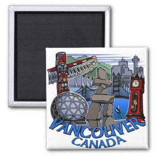 Vancouver Magnet Souvenir Magnet Buttons Gifts