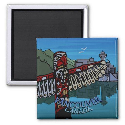 Vancouver Magnet Souvenir Magnet Buttons & Gifts