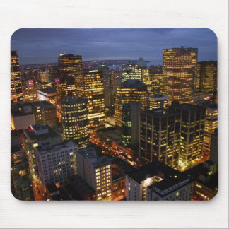 Vancouver night-time mousemat mouse pad