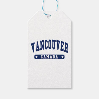 Vancouver Pack Of Gift Tags