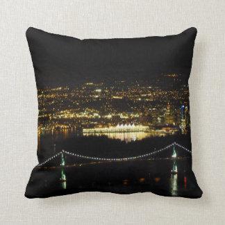 Vancouver Pillow Personalized Vancouver Souvenirs