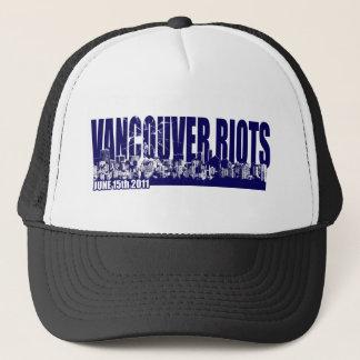 Vancouver Riots 2011 Trucker Hat