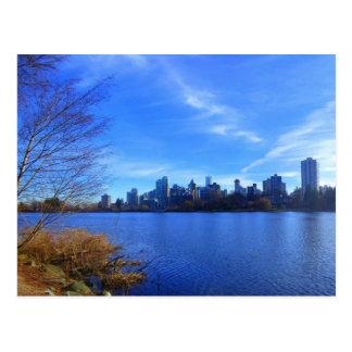 Vancouver Skyline Postcard
