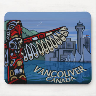 Vancouver Souvenir Mouse Pad Vancouver Totem Gifts