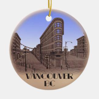 Vancouver Souvenir Ornament Vancouver Keepsake