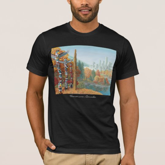 Vancouver Souvenir T-shirt Vancouver Art Shirts