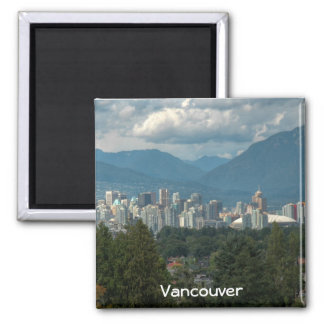 Vancouver Square Magnet