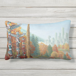 Vancouver Throw Pillows Vancouver Totem Pole Gifts