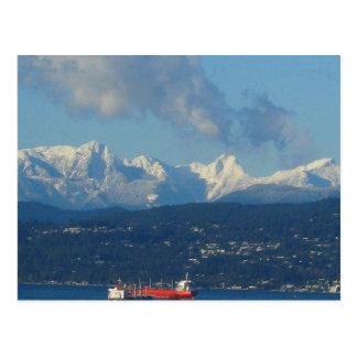Vancouver View Postcard