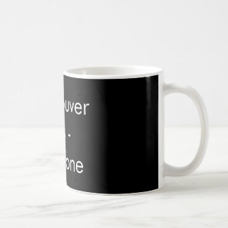 Vancouver vs everyone - mug (black)