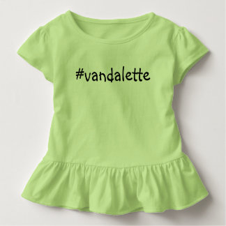 #vandalette toddler t-shirt