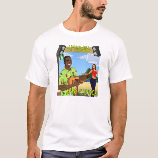 Vane-Bullet of the Cavaquinhos Carioca Afro T-Shirt