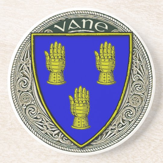 Vane Family Arms Coaster