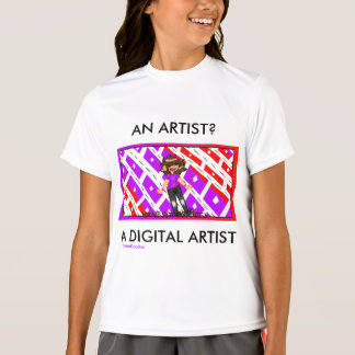 VanessaDoodles A DIGITAL ARTIST Tee