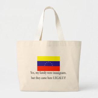 Vanezuela Jumbo Tote Bag
