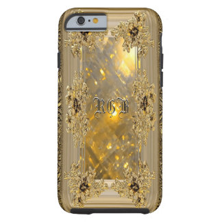 Vanfleet Mirage Girly Victorian Monogram Tough iPhone 6 Case