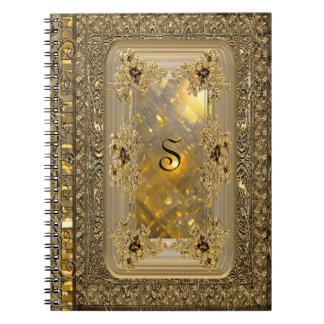 Vanfleet Mirage Victorian Monogram Notebook