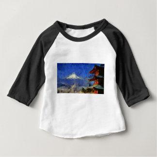 vangogh Mt-Fuji-Japan Baby T-Shirt