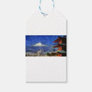 vangogh Mt-Fuji-Japan Gift Tags
