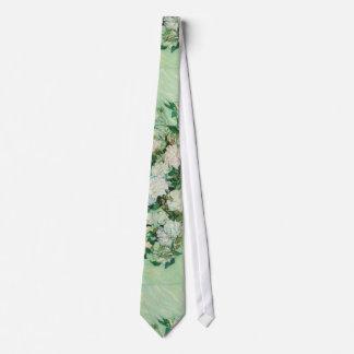 VanGogh Roses Tie