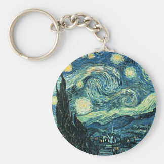 VanGogh Starry Night Key Chain