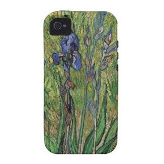 Vangogh The Iris Vintage Post impressionist iPhone 4 Cover