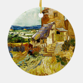 VanGogh - The Old Mill Ceramic Ornament