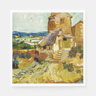 VanGogh - The Old Mill Paper Napkin