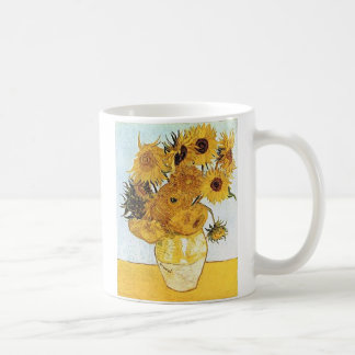 VanGogh The Vase with 12 Sunflowers Coffee Cup
