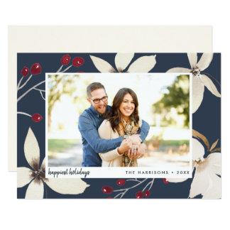 Vanilla Blossom | Holiday Photo Card