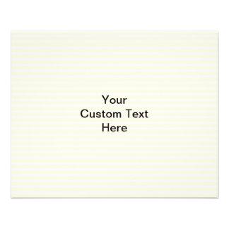 Vanilla Cake. Custom Flyer