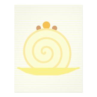 Vanilla Cake. Flyer