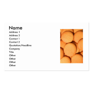 Vanilla Cookies Business Card