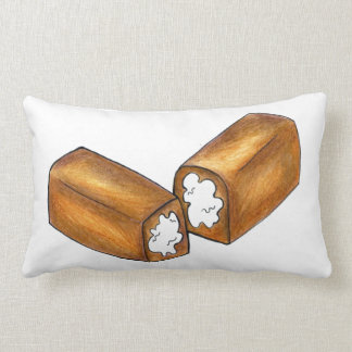 Vanilla Cream Snack Cake Junk Food Twinkie Pillow