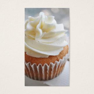 Vanilla Cupcake Photograph ll Business Cards