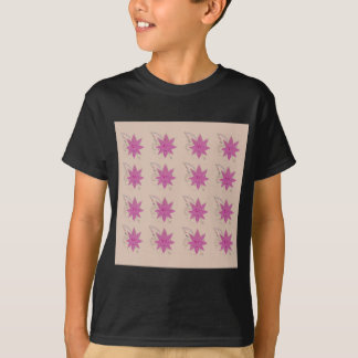 Vanilla ethno summer Lotus flowers T-Shirt