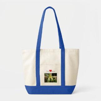 Vanilla Flower Tote Bag