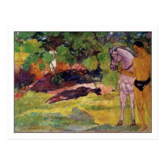 Vanilla Grove by Paul Gauguin Postcard