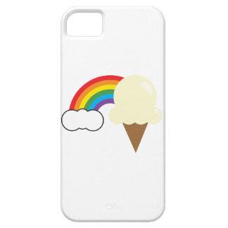 Vanilla Ice Cream and Rainbow iPhone 5 Covers