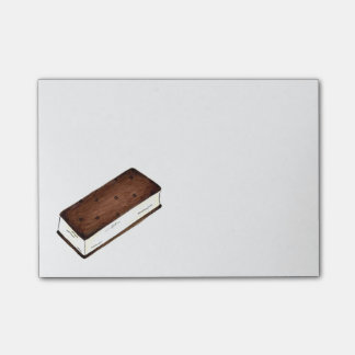 Vanilla Ice Cream Sandwich Foodie Post Its Post-it Notes