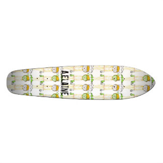 Vanilla Milk Wallpaper- colored pencil, Vanilla... Custom Skateboard