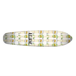 Vanilla Milk Wallpaper- colored pencil, Vanilla... Skateboard Deck