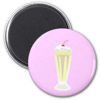 Vanilla Milkshake Magnet