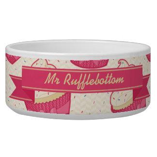 Vanilla Sprinkle Cupcake Pattern and Ribbon