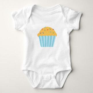 Vanilla Sprinkles Cupcake Babyware Baby Bodysuit