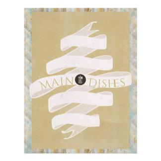 Vanilla Swirl Recipe Divider (Two Words) Letterhead