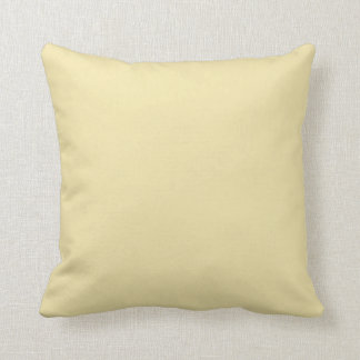 Vanilla Throw Pillow