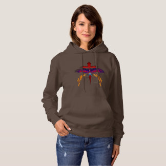 Vanishing Phoenix Ladies Hoodie