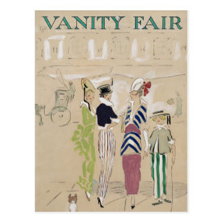 Vanity Fair Postcard