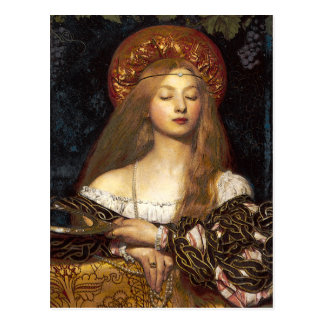 Vanity Pre-Raphaelite postcards